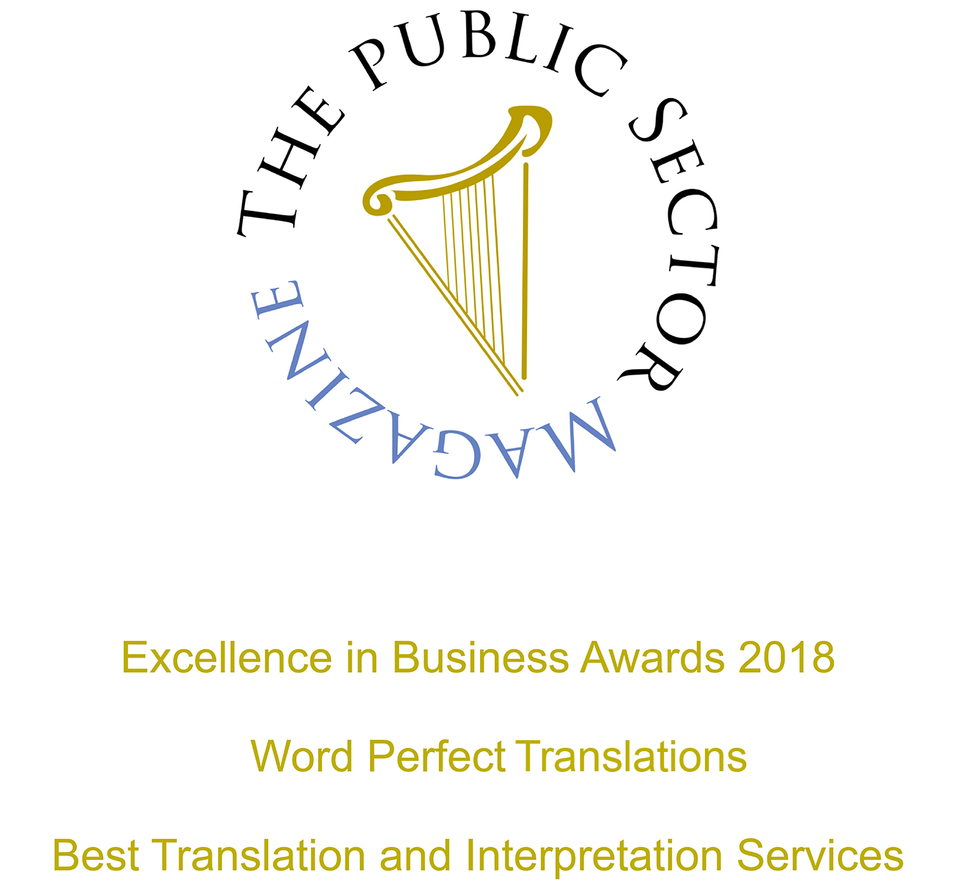 The Public Sector Magazine | Excellence in Business Award 2018